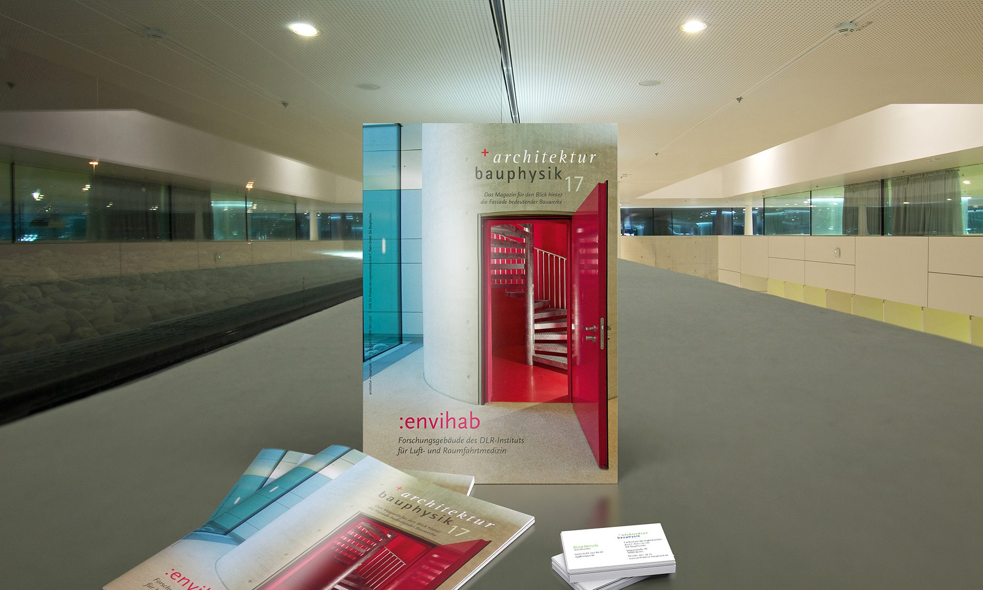 architektur + bauphysik Magazin Cover