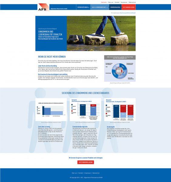 AFS - Website Unterseite