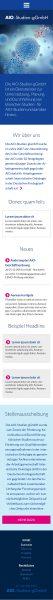 AIO - Homepage Smartphone