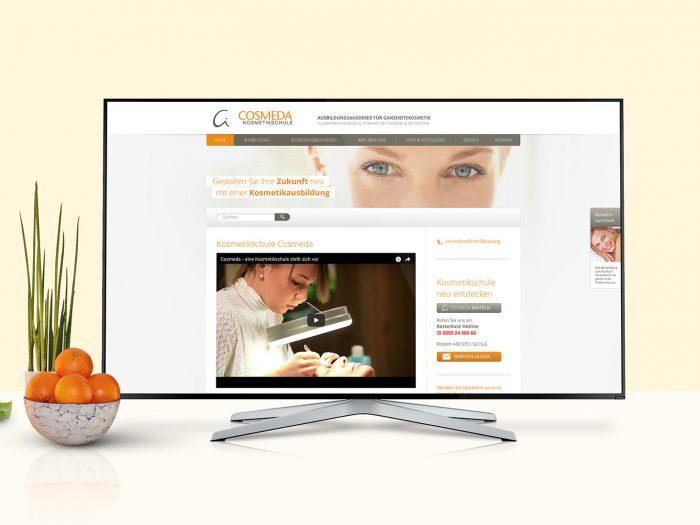 Cosmeda Website