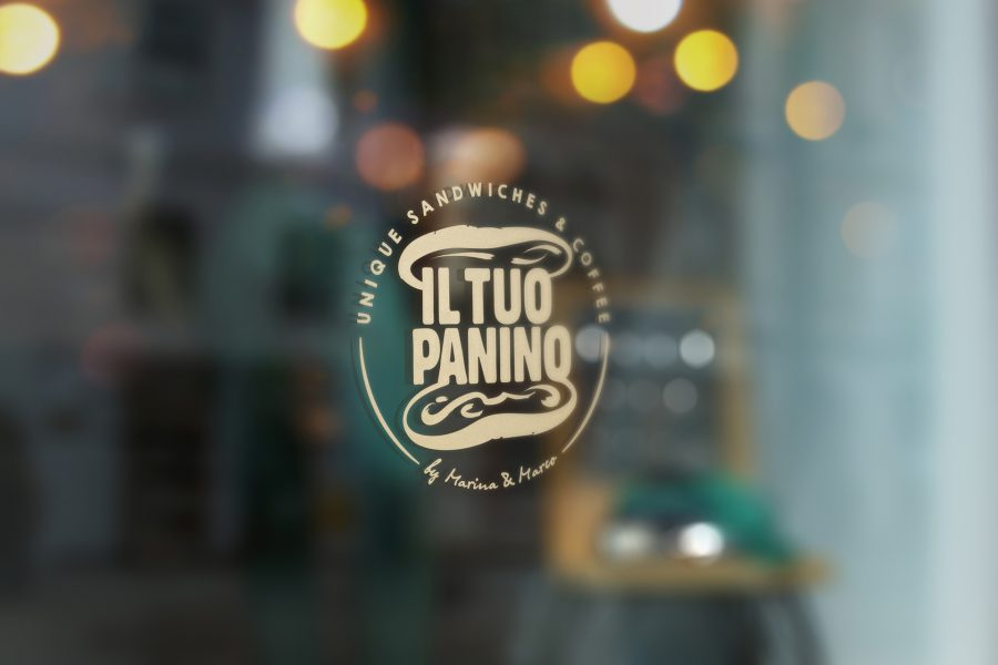 Il Tuo Panino - Fensterbeschriftung