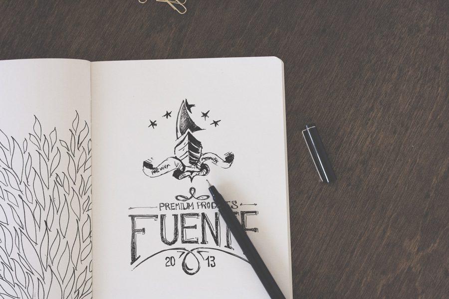 Fuente - Logo Scribble