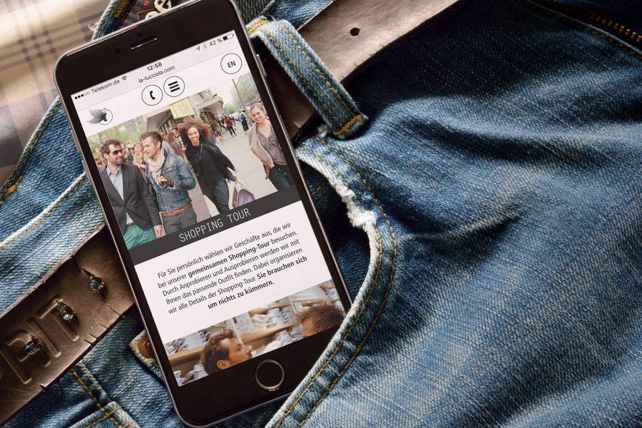La Lucciola - Website, Smartphone