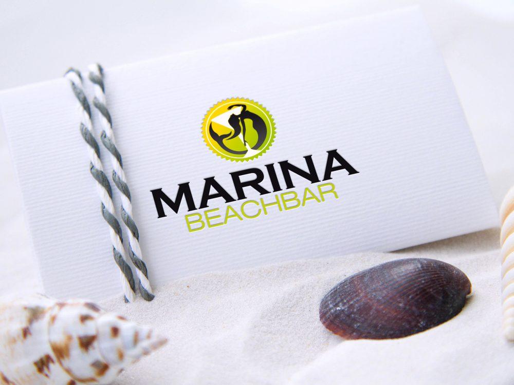 Marina Beachbar - Logo