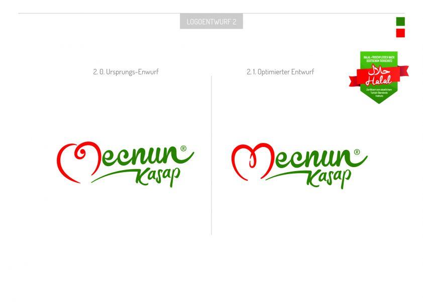 Mecnun - Logoentwurf 1