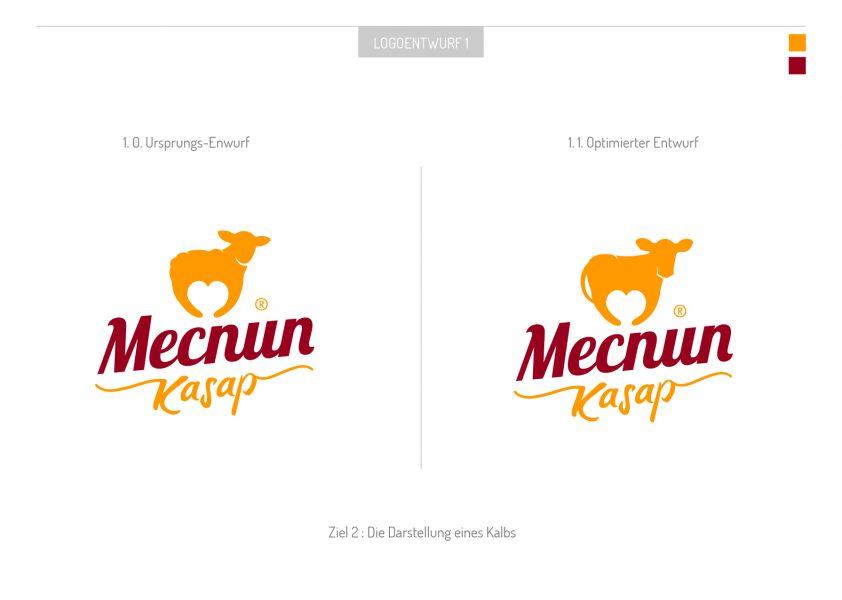 Mecnun - Logoentwurf 3