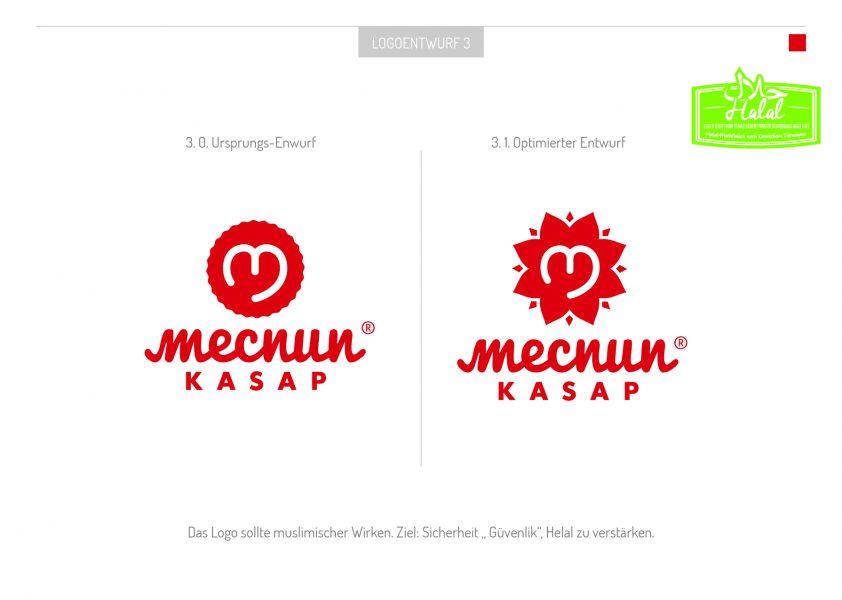 Mecnun - Logoentwurf 2