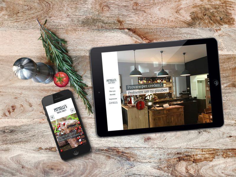 Pittelli`s - Website, Tablet, Smartphone
