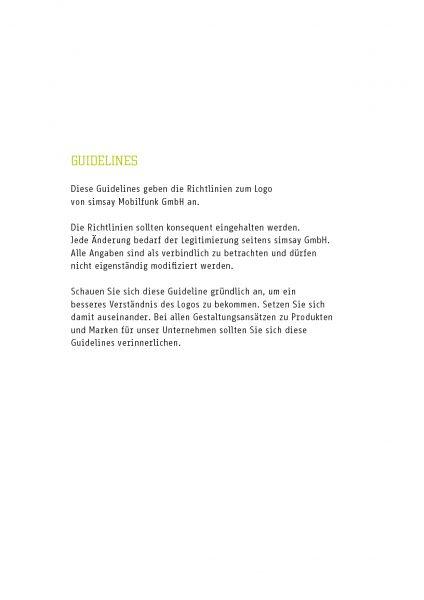 Simsay - Corporate Design Manual 3