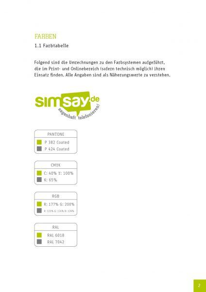 Simsay - Corporate Design Manual 4