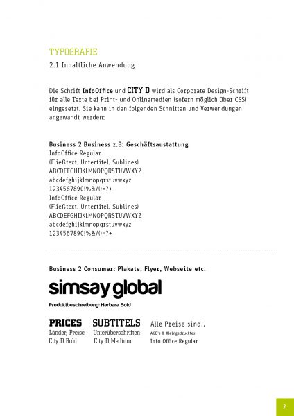 Simsay - Corporate Design Manual 5