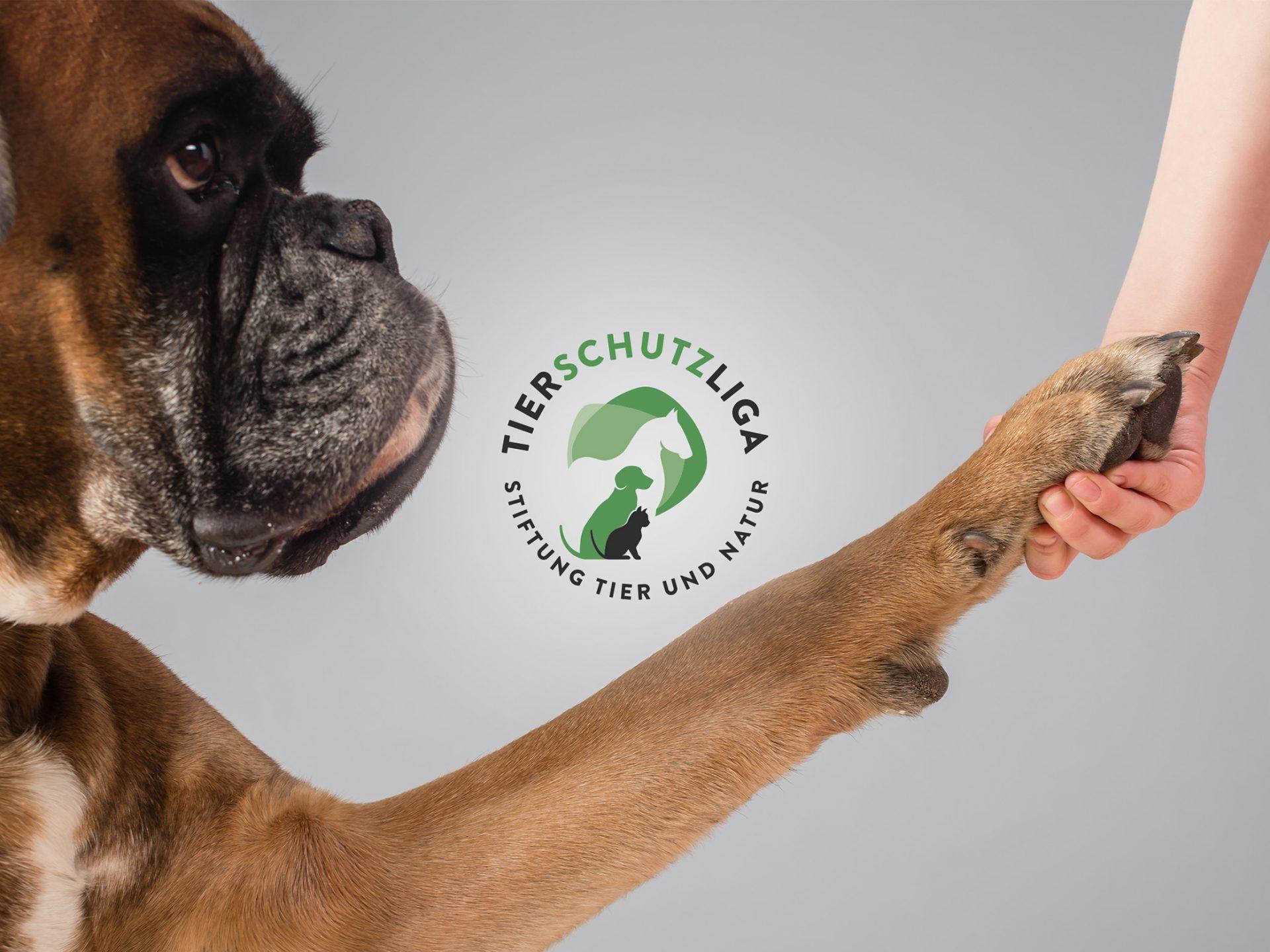 Tierschutzliga - Logo