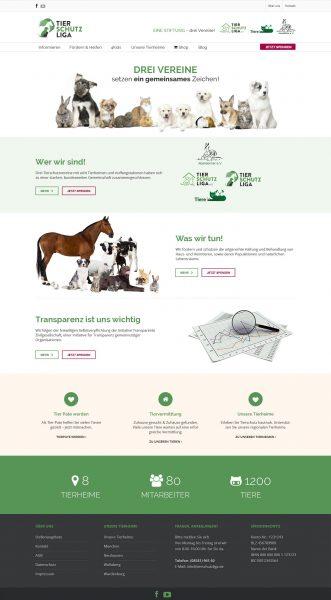 Tierschutzliga - Homepage