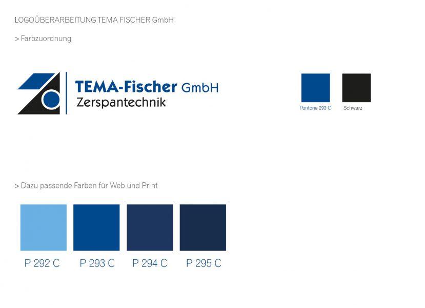 Tema-Fischer - Homepage, Styleguide