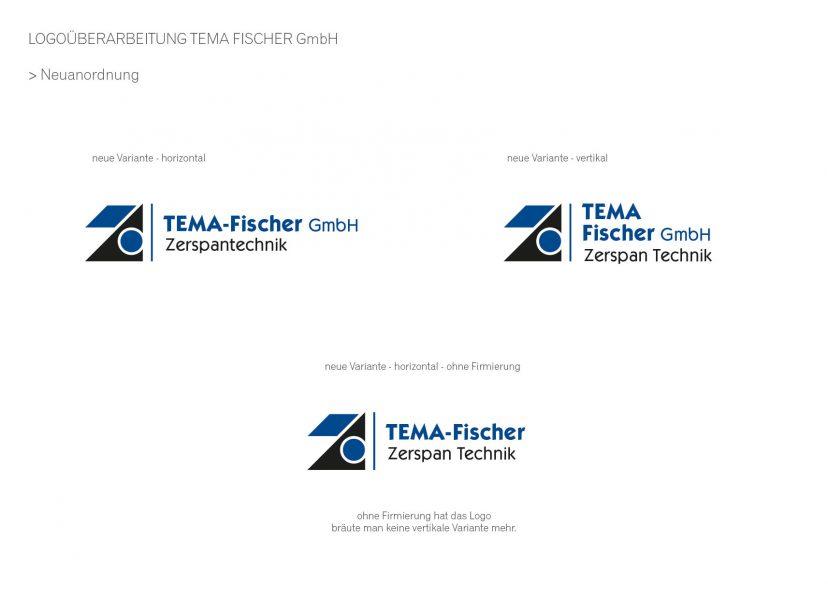 Tema-Fischer - Logorelaunch 2