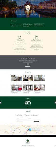 Whitestones - Website Entwurf komplett