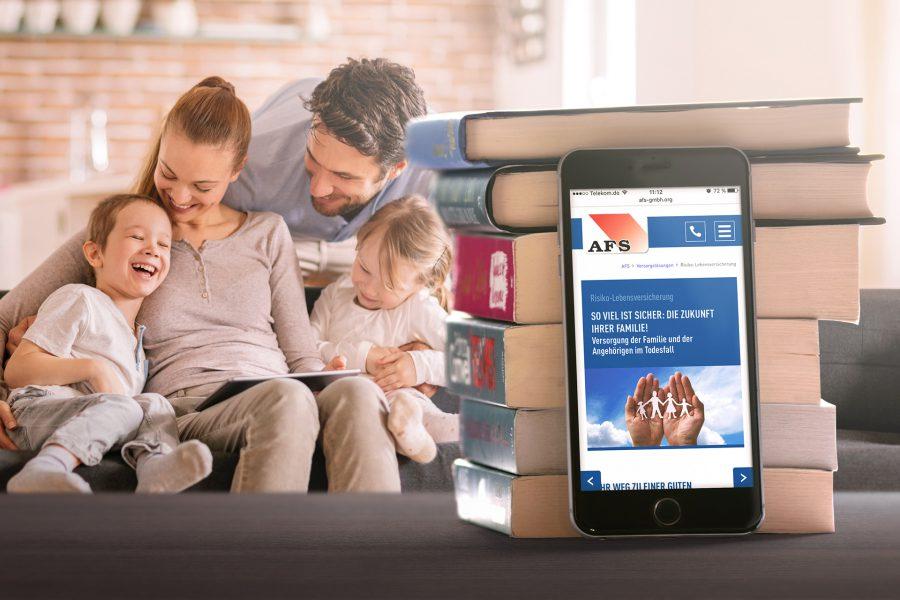 AFS - Website Smartphone