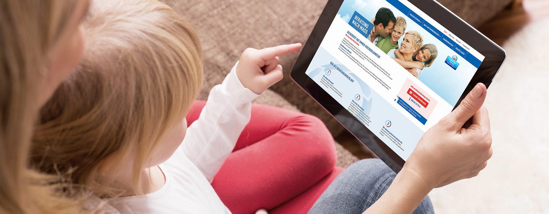 AFS - Website Tablet