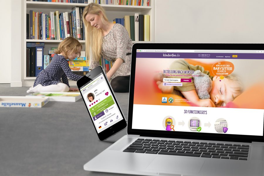 Kinderfee Website
