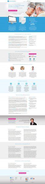 PatientenverfügungPlus - Homepage Entwurf komplett