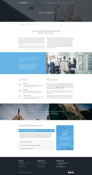 wevest DIGITAL - Unterseite, Unsere Mission